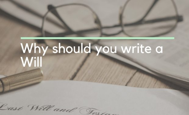 why should you write a will