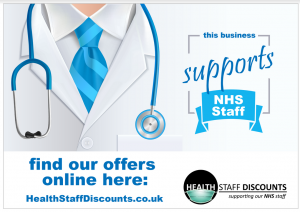 NHS Discount | Staff fees